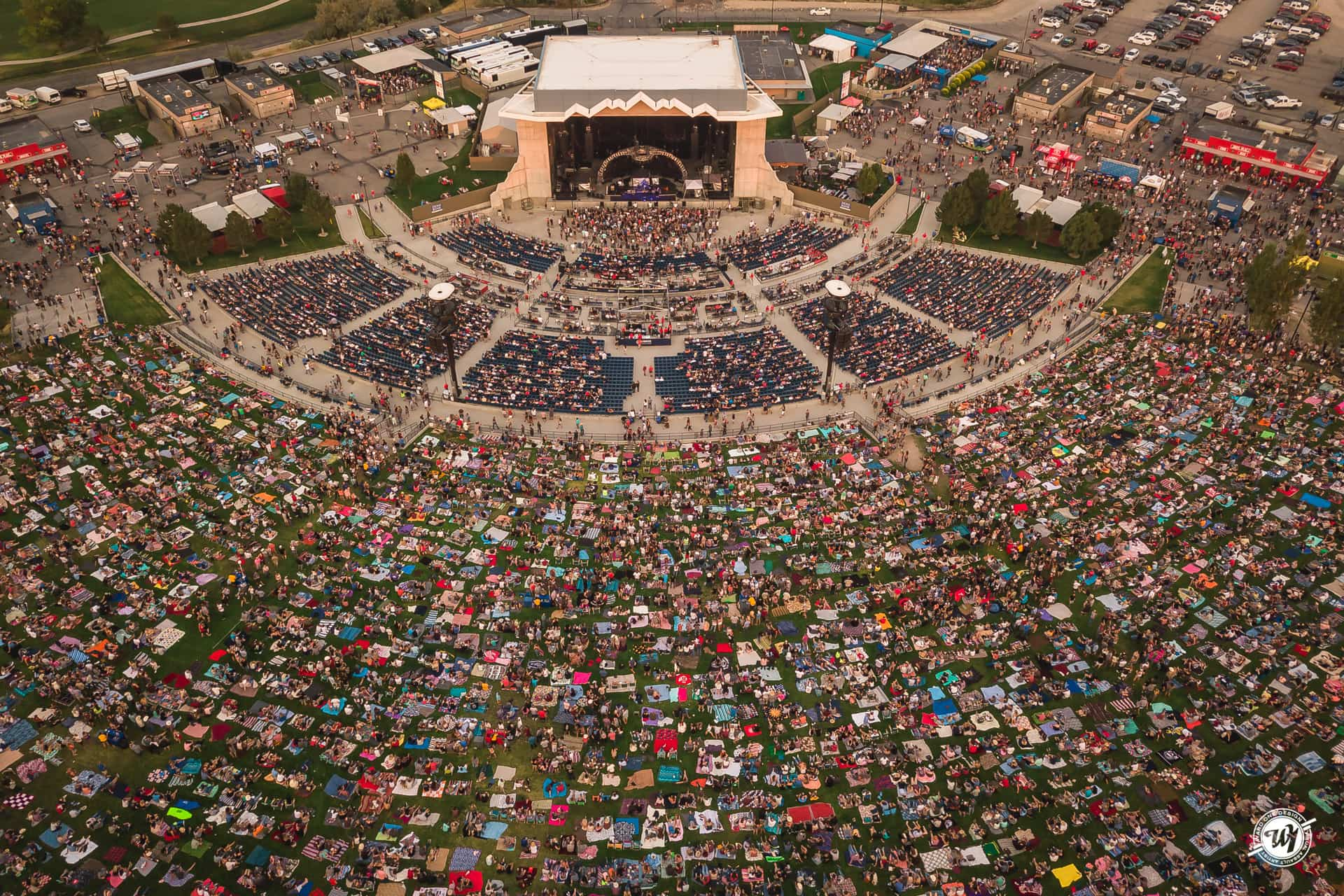 Usana Amphitheatre • Salt Lake City, Utah