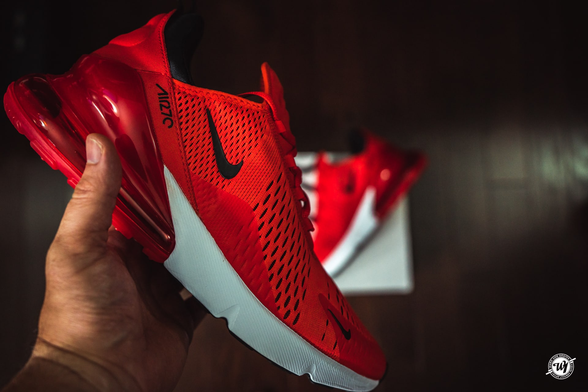 innovative design 85d67 c57a6 Nike Air Max 270 • Habanero Red   Ward 1 Design