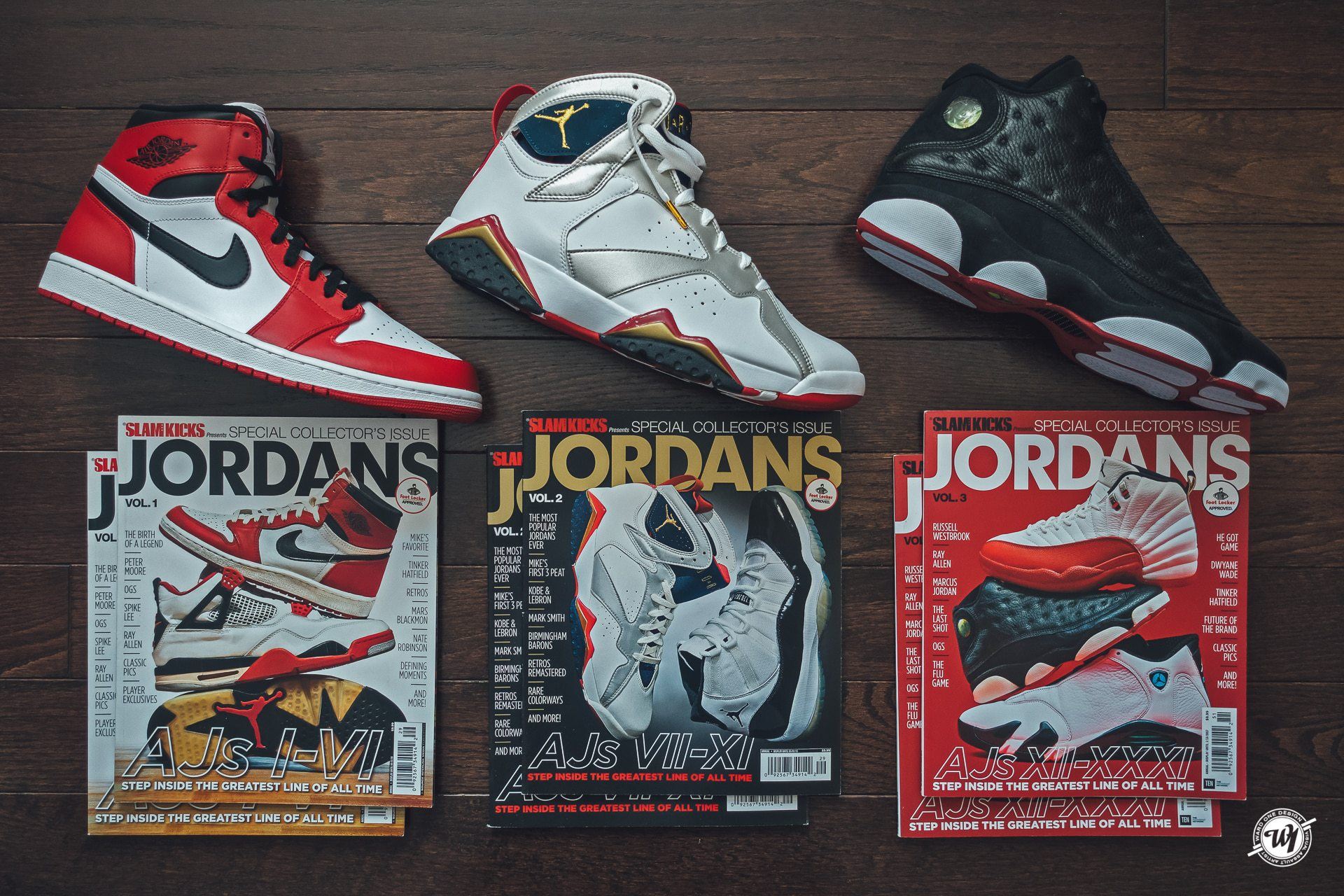 Slam Magazine • Jordans • The Greatest Line of All Time photography Ward 1 Shoes