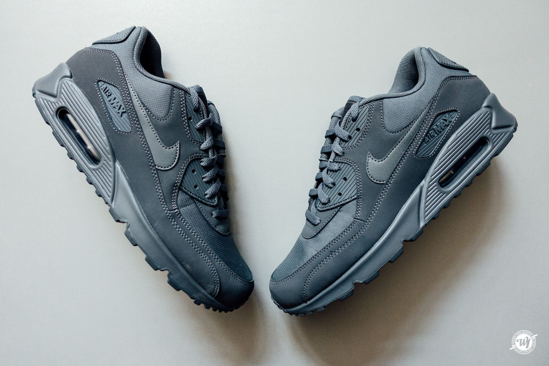 finest selection b7a04 36137 Nike Air Max 90 Essential – All Grey   Ward 1 Design