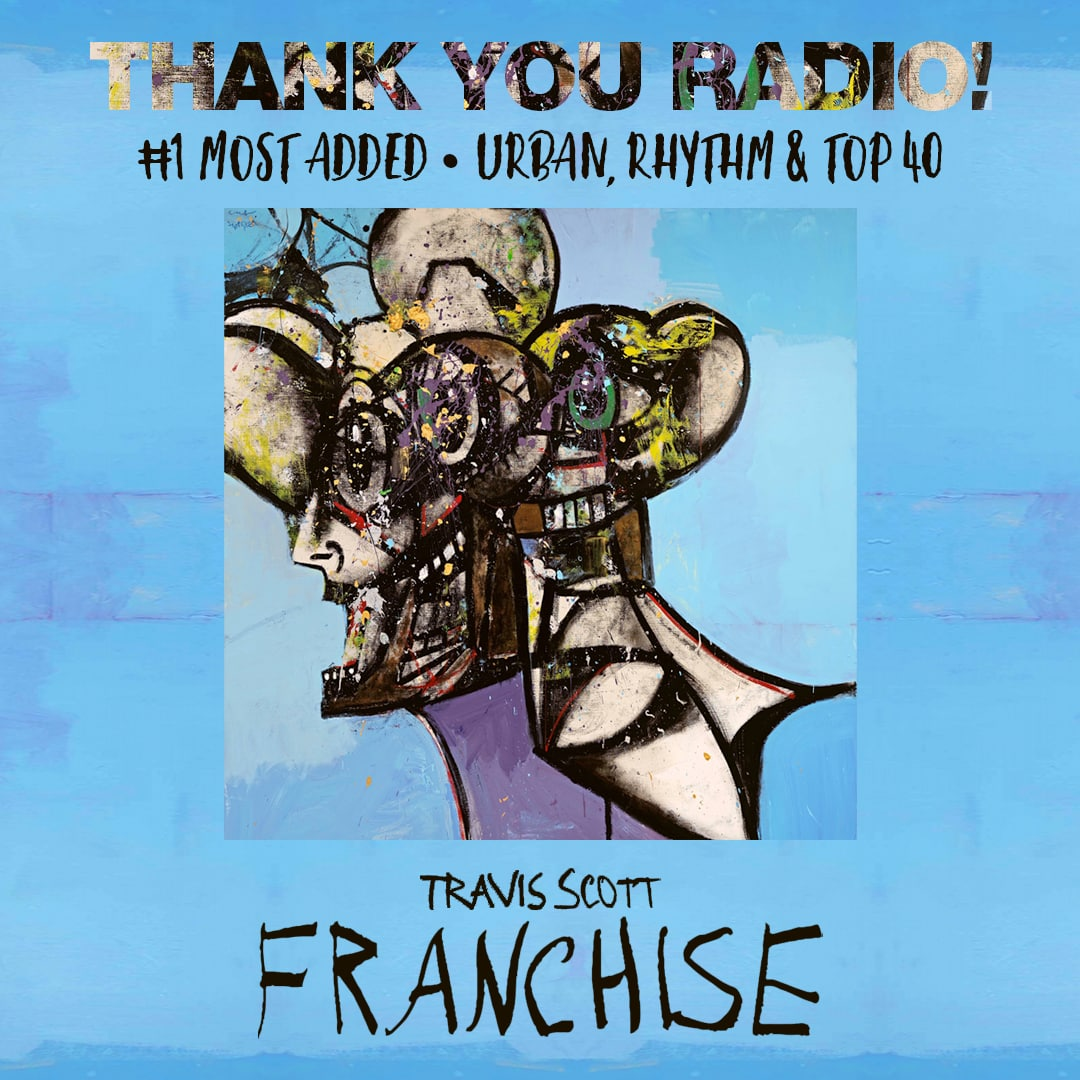 "Travis Scott ""Franchise"" Social Design"