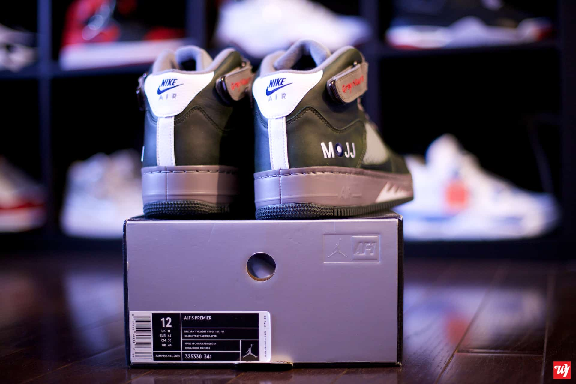 f1e22bd4ca1f91 Air Jordan released a new Air Jordan Force V at Air Jordan Flight Club –  the Grey Nurse. These Air Jordan Force Fusion V s are loosely modeled on  the ...