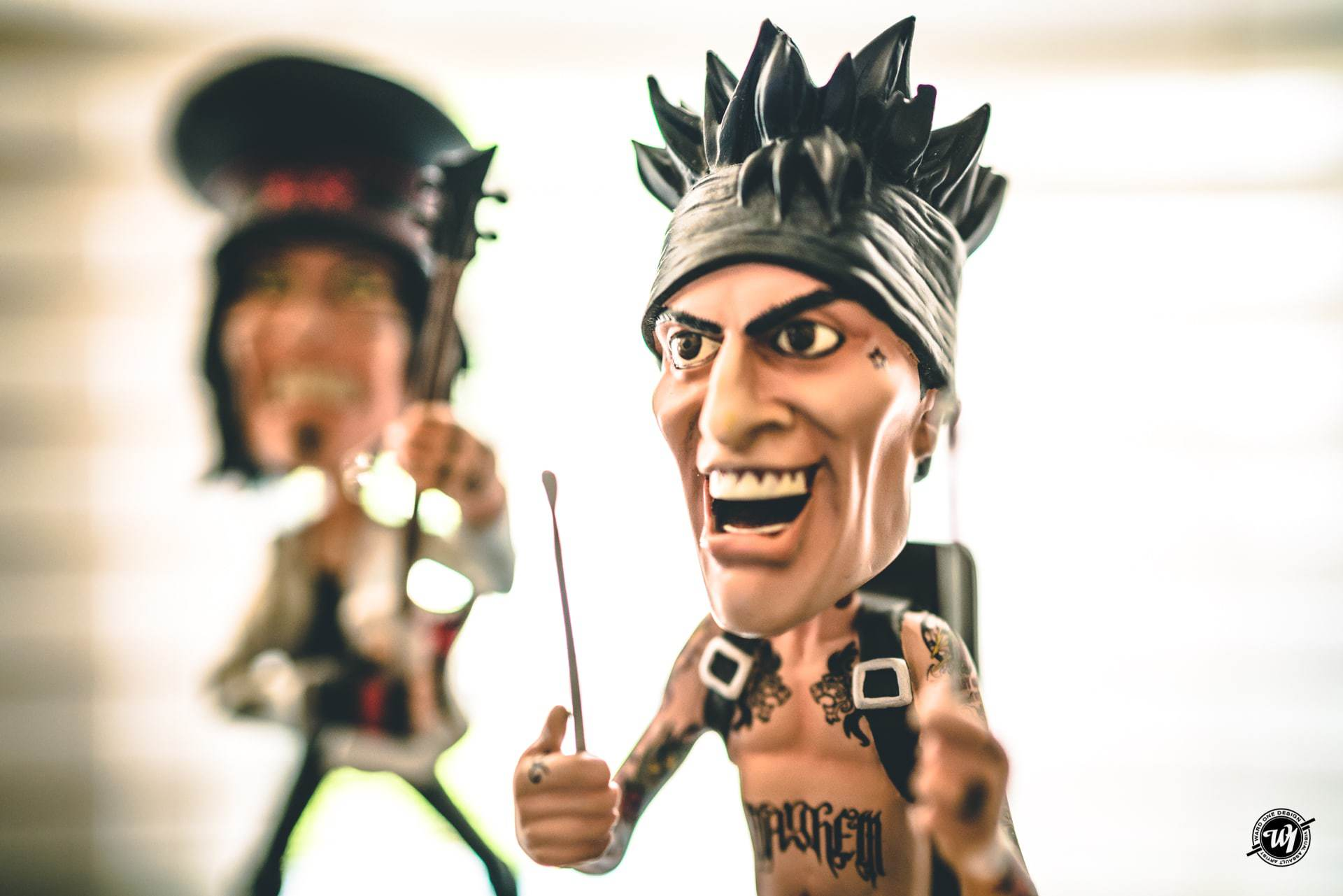 Mötley Fckin' Crüe Bobbleheads