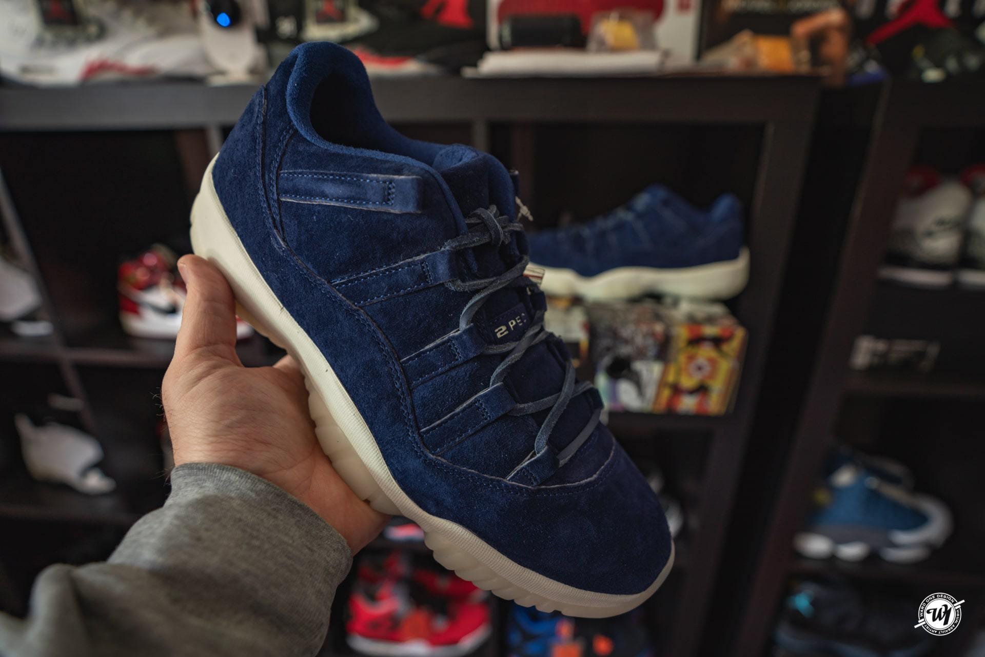 Derek Jeter • Air Jordan XI Low Binary Blue