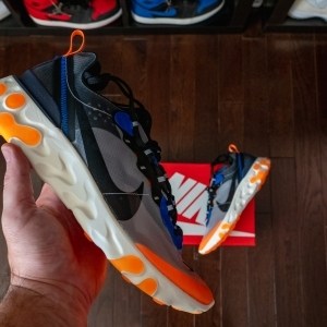 Nike React Element 87 • Total Orange