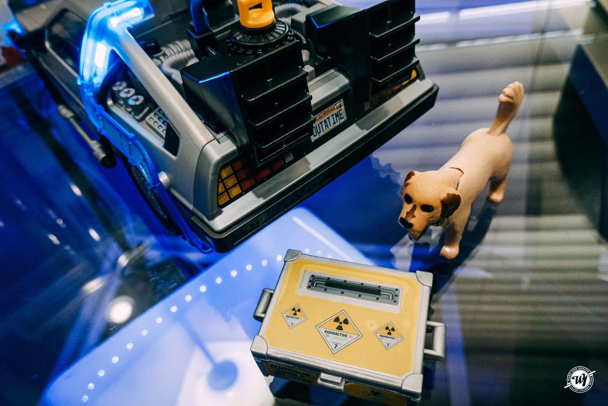 Back to the Future Playmobil Set