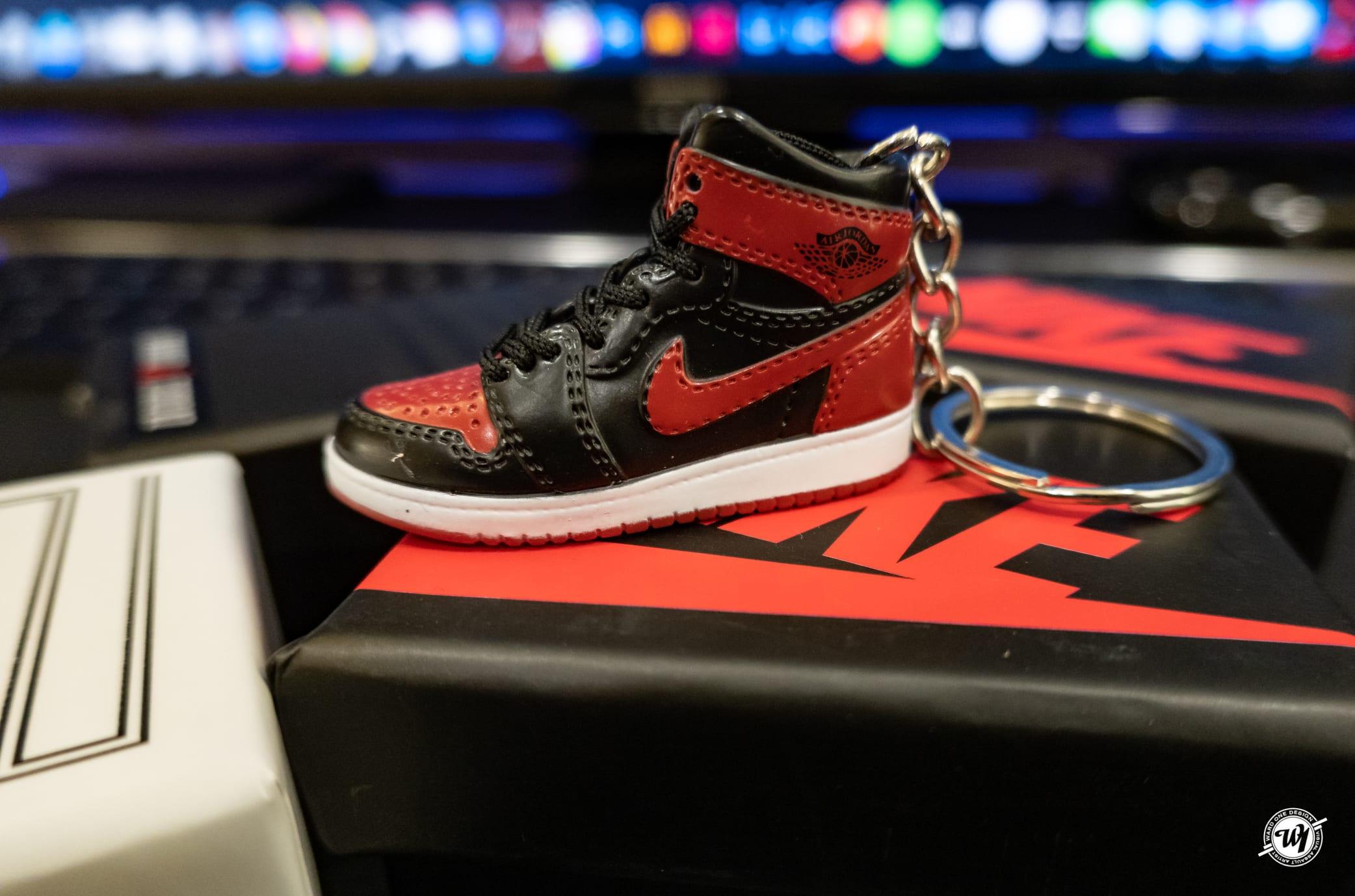 Air Jordan 3D Keychains