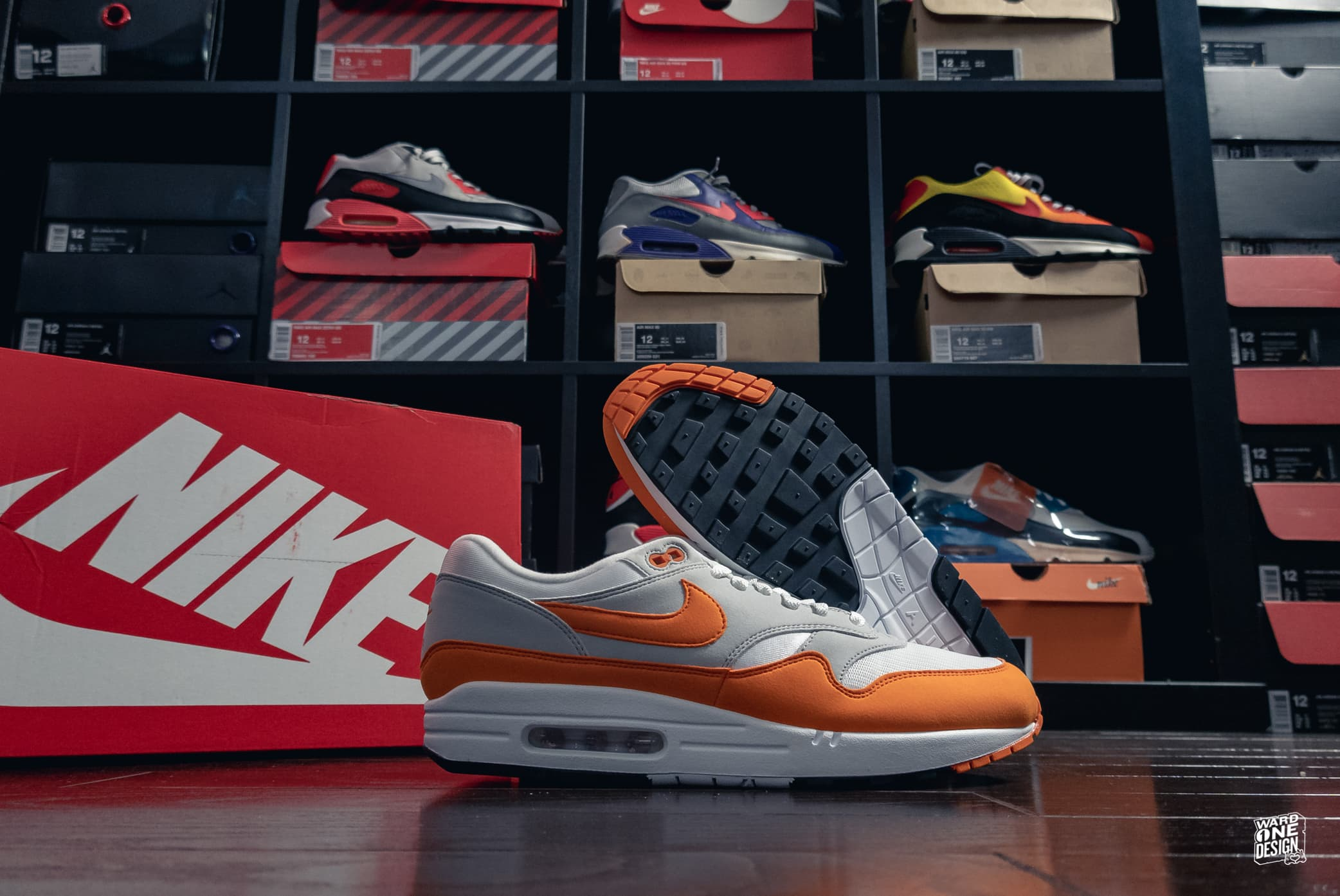 Nike Air Max 1 - Bears Orange