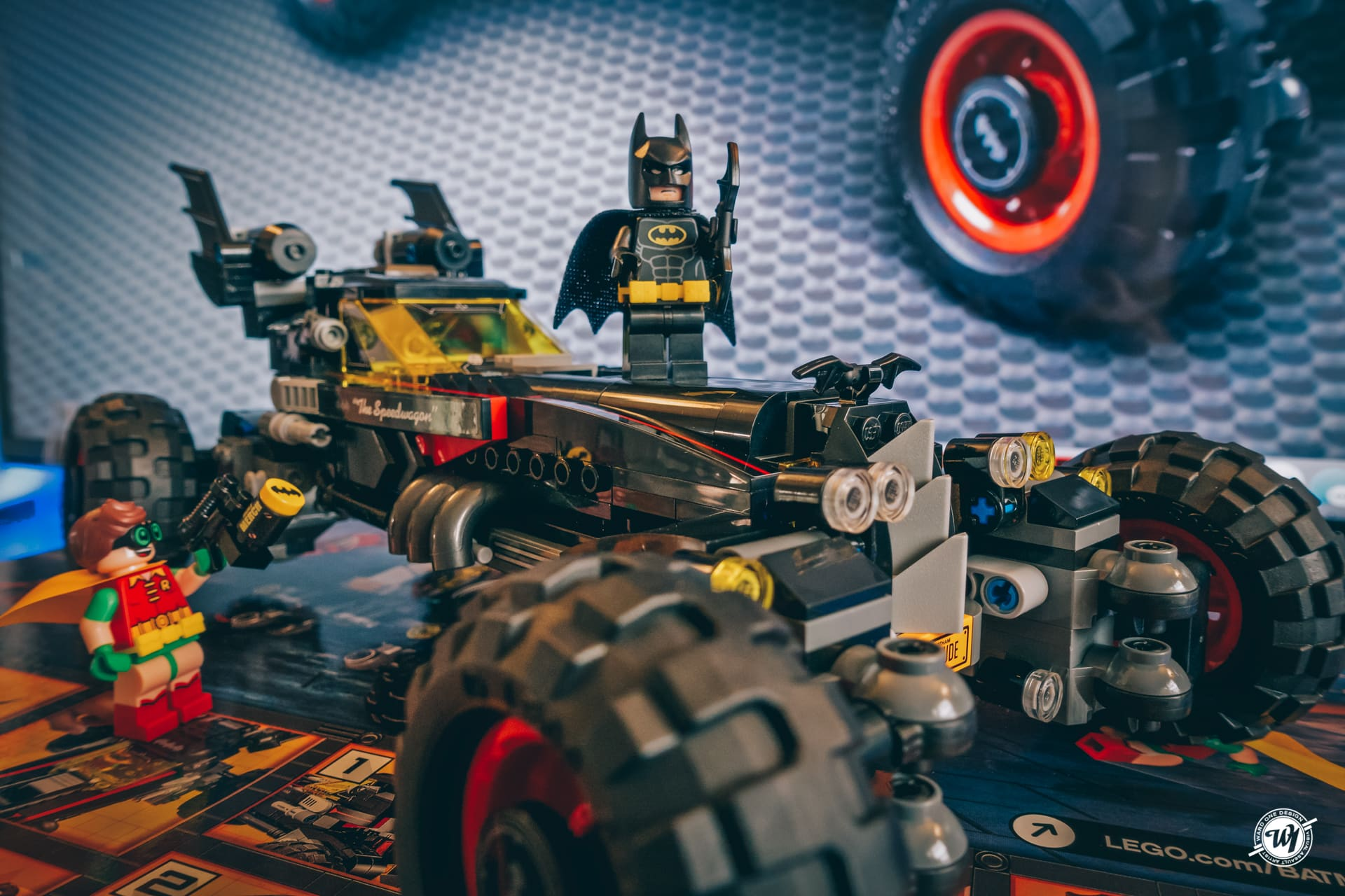THE ALL-NEW LEGO ® BATMOBILE FROM CHEVY Ward 1 Design