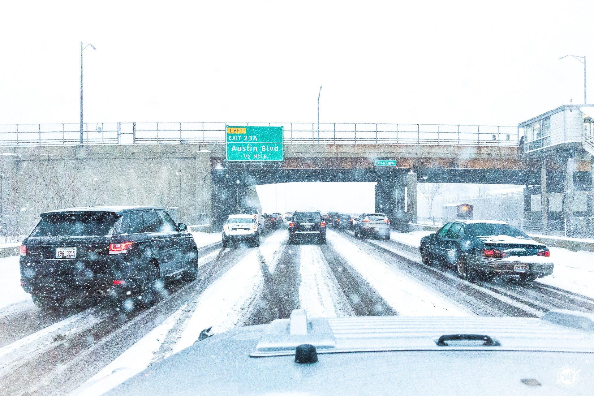 Snowy Chicago Commute in March Ward 1 Design