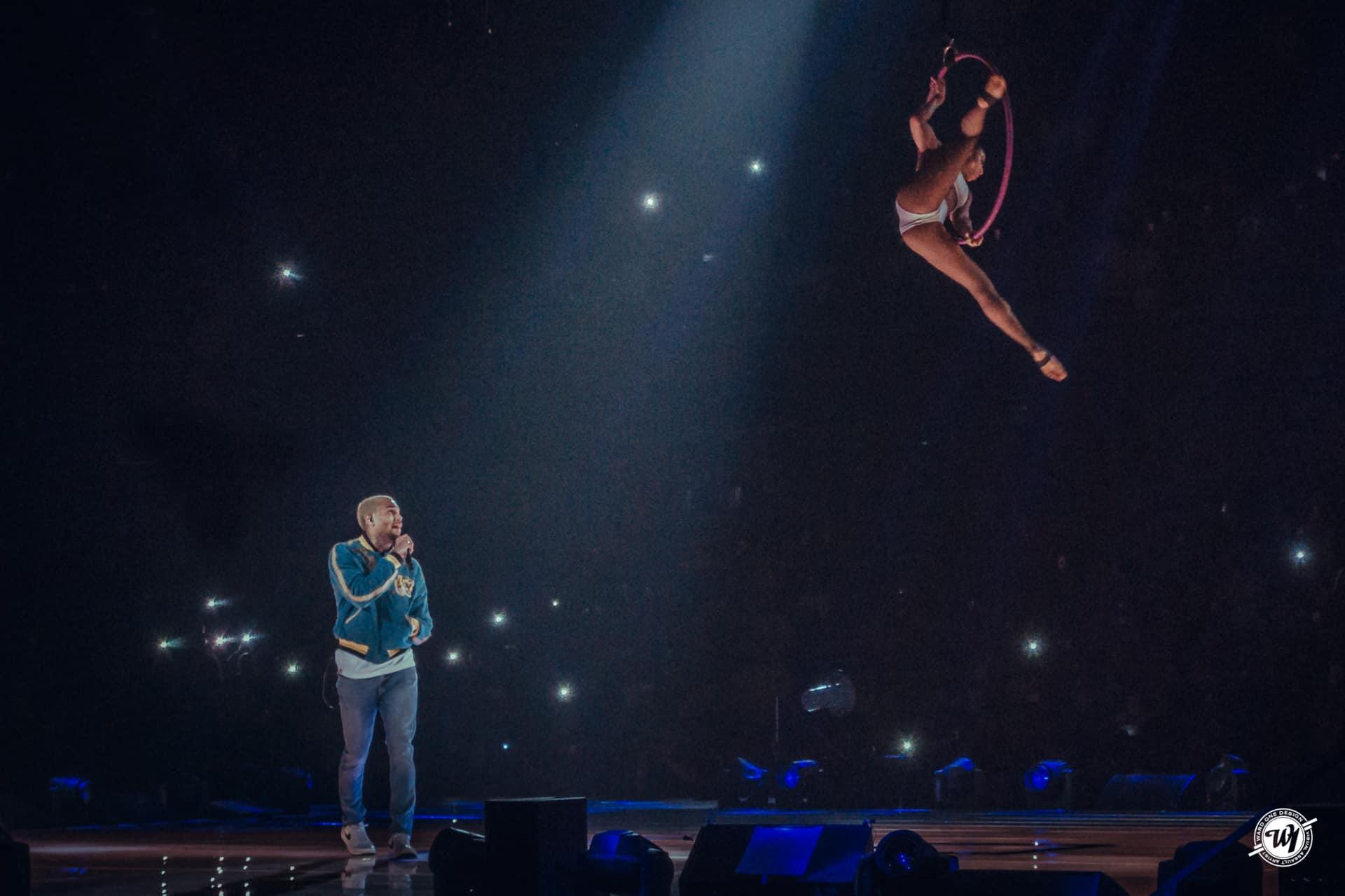 Chris Brown • The Party Tour • Chicago Concerts Ward 1 Design