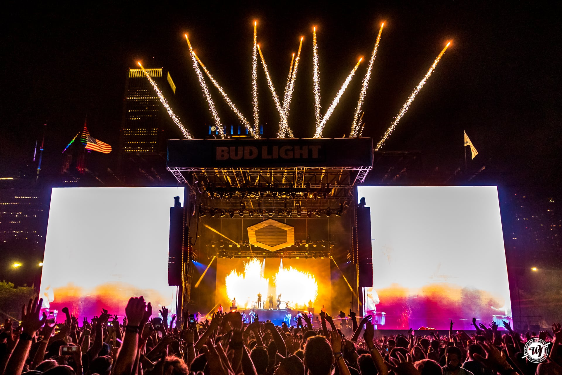Odesza at LollaPalooza 2018 Chicago