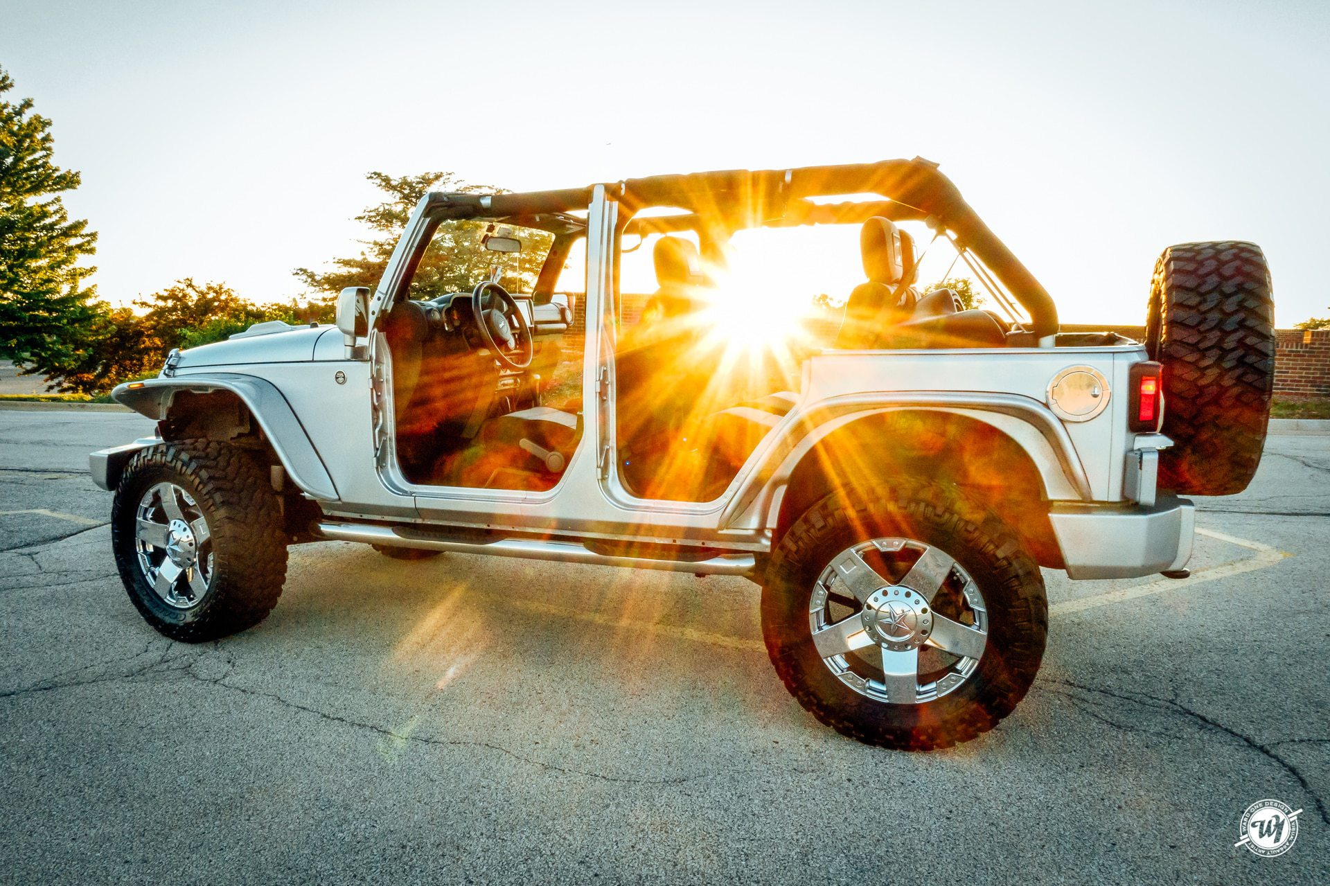 Topless Summer in the Jeep Wrangler photography