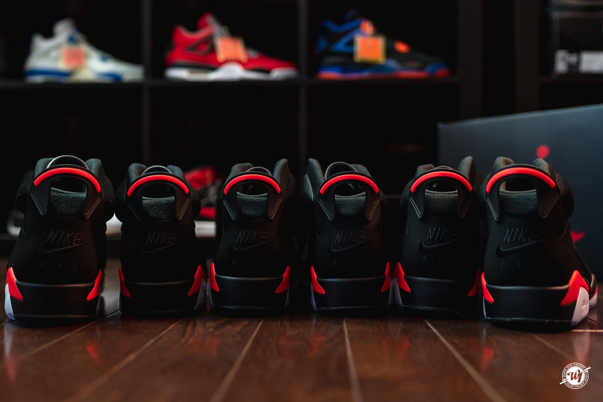 Air Jordan VI Infrared 2019