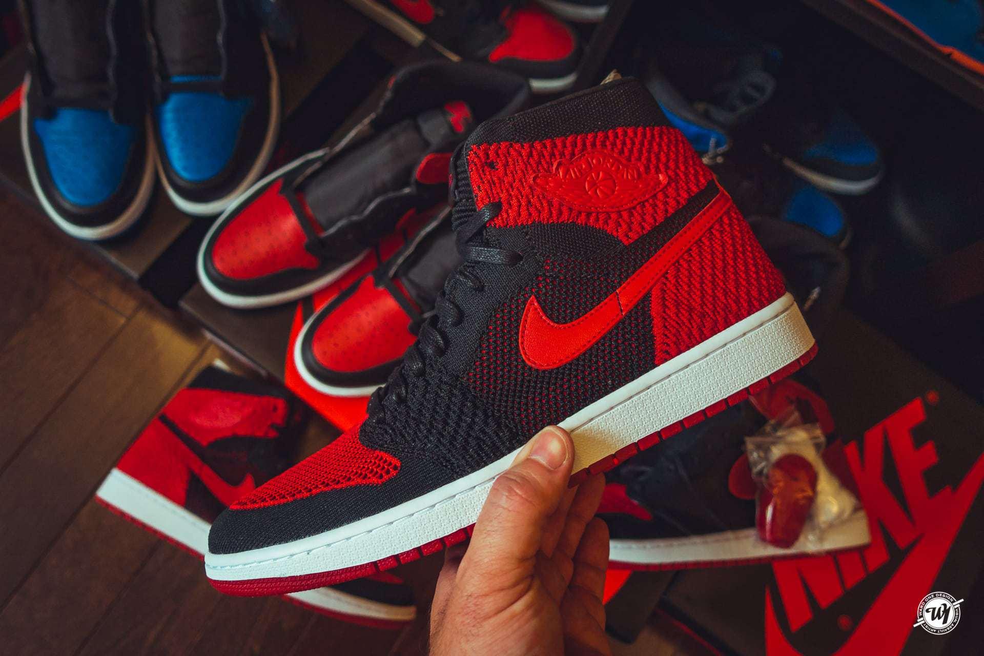 Air Jordan 1 Flyknit • Banned Ward 1 Shoes