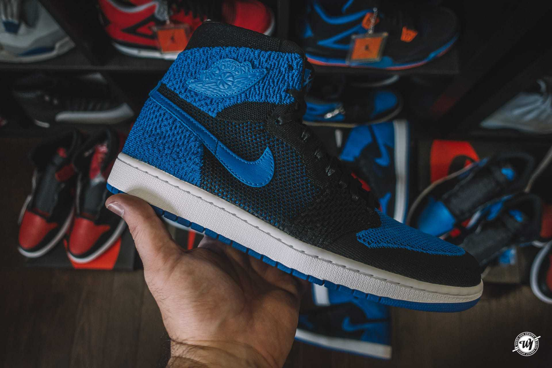 Air Jordan 1 Flyknit • Royal