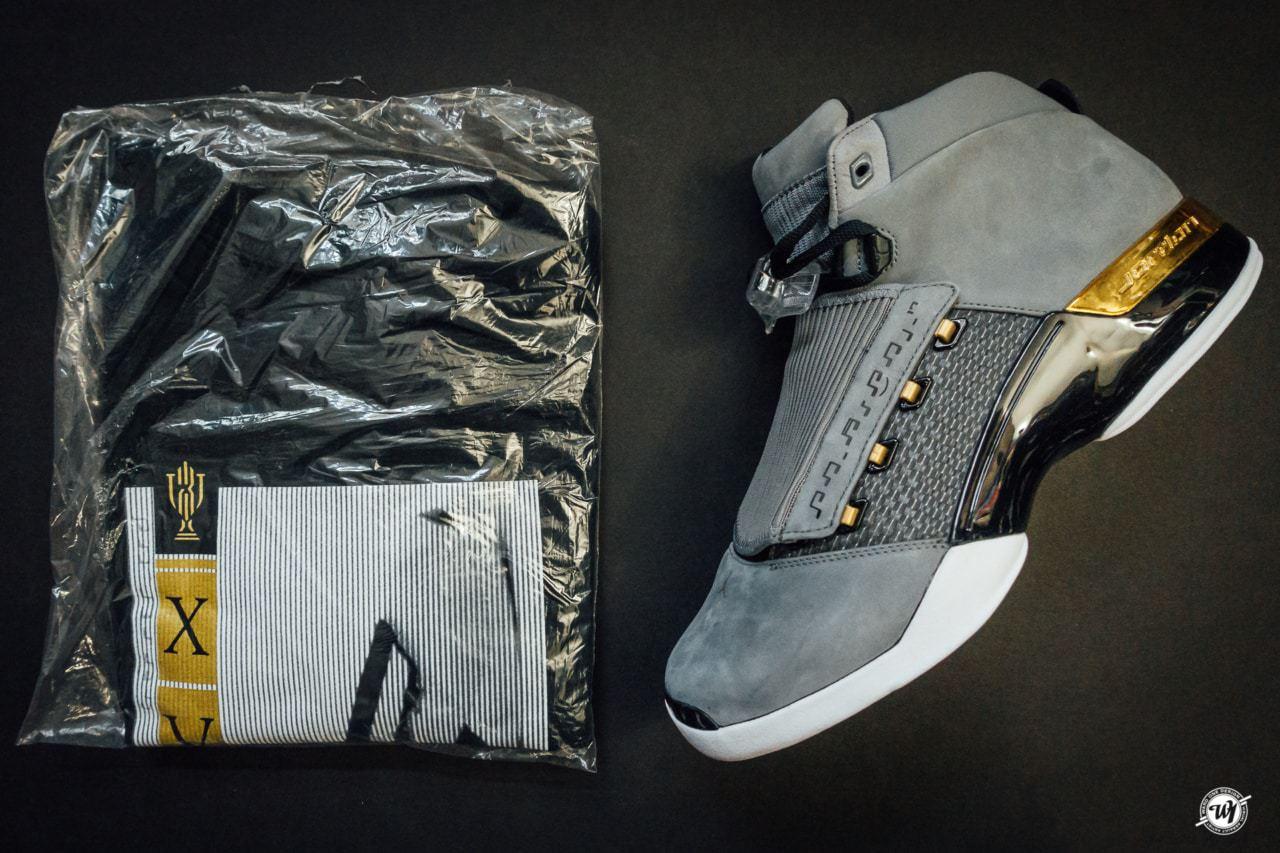 Air Jordan 17 Retro Trophy Room ™ photography Ward 1 Shoes