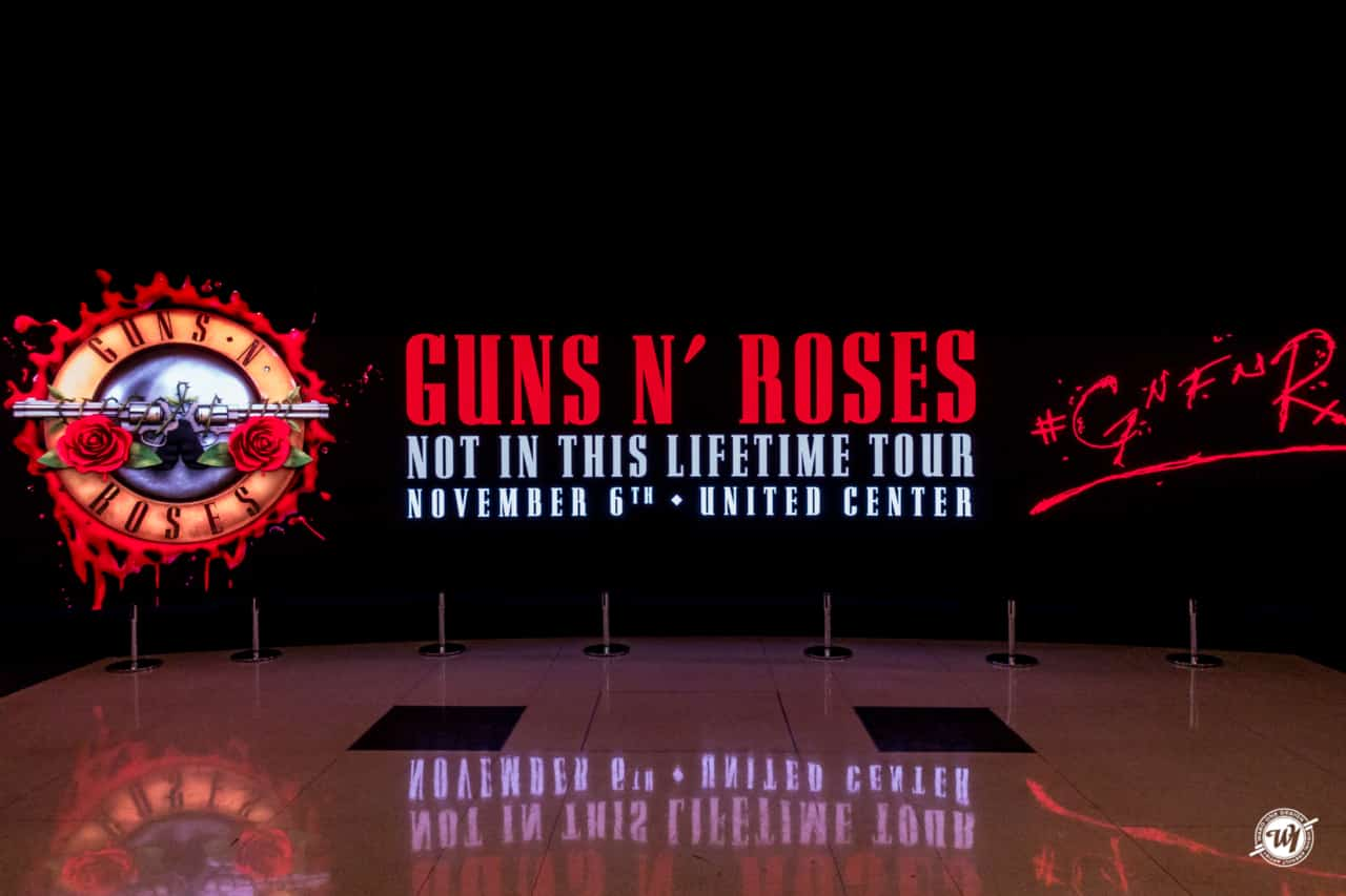 Guns N Roses 2017 - Chicago Concerts photography