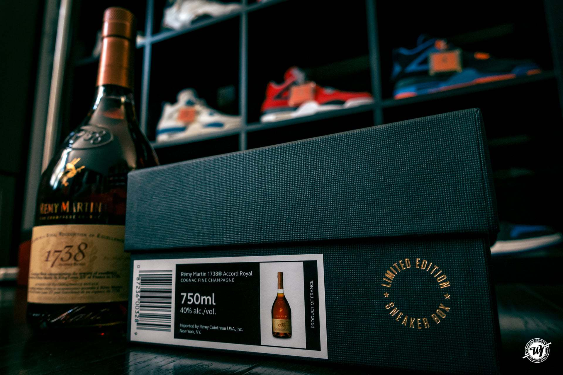1738 Accord Royal • Sneakerbox Edition photography