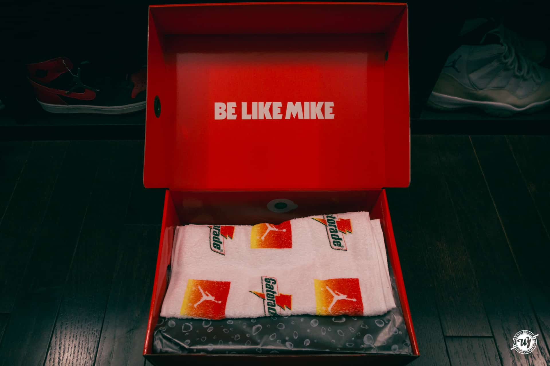 Be Like Mike- Air Jordan VI Gatorade Ward 1 Shoes