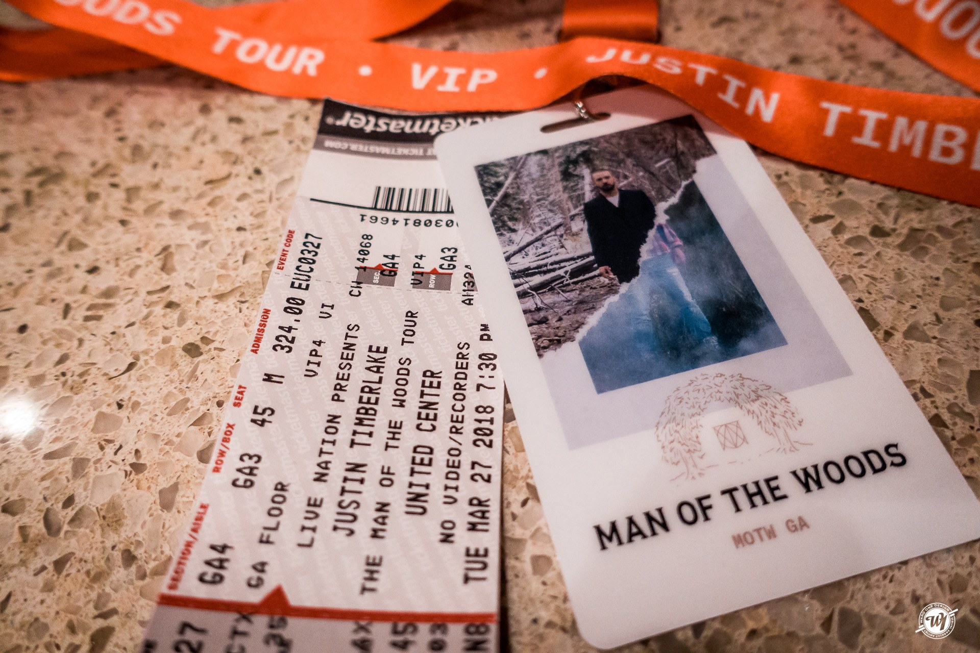 Justin Timberlake - Man of the Woods Tour - Chicago 3.27.2018