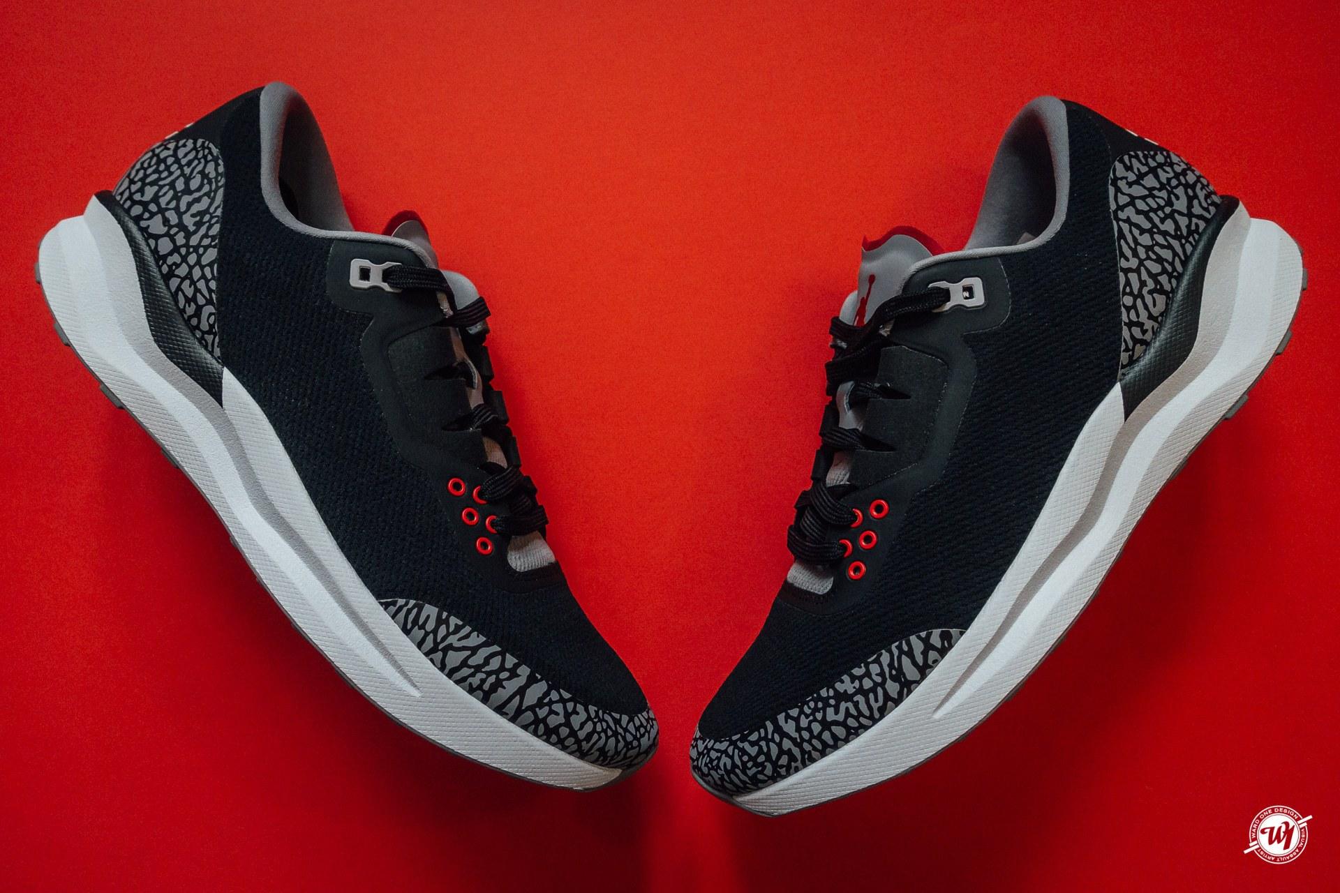 The Jordan Zoom Tenacity 88 - Black Cement